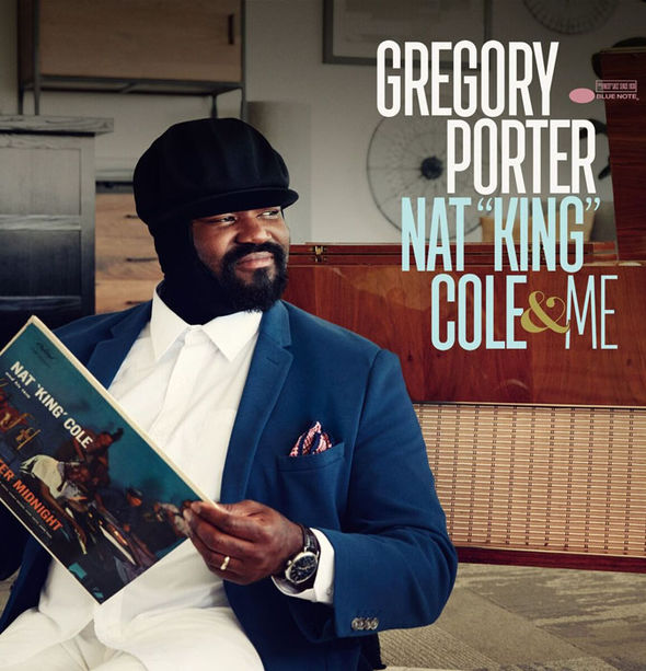 Gregory Porter's new album cover