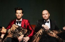 Mayer Hawthorne and Jake One, AKA Tuxedo.