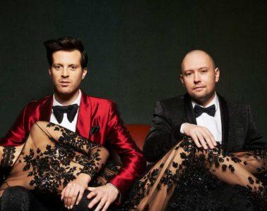 Mayer Hawthorne and Jake One, AKA Tuxedo.