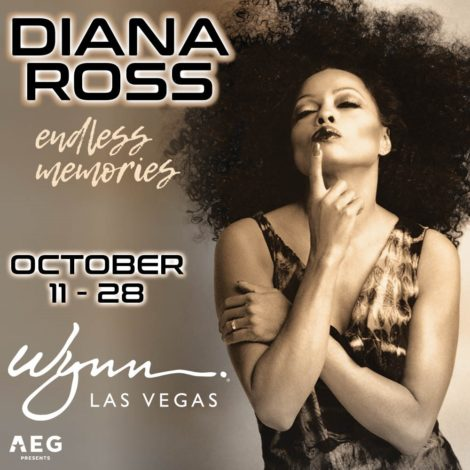 "Diana ""The Boss"" Ross at the Wynn, Las Vegas."