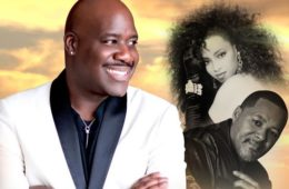 Photo of Will Downing, Najee and Meli'sa Morgan.