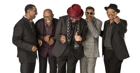 Photo of The Temptations.