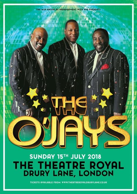 Picture of The O'Jays.